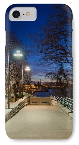 Memphis Riverfront IPhone Case by Mark Bowmer