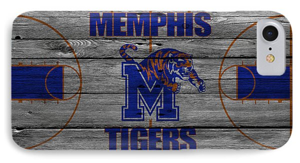 Memphis Tigers IPhone Case by Joe Hamilton