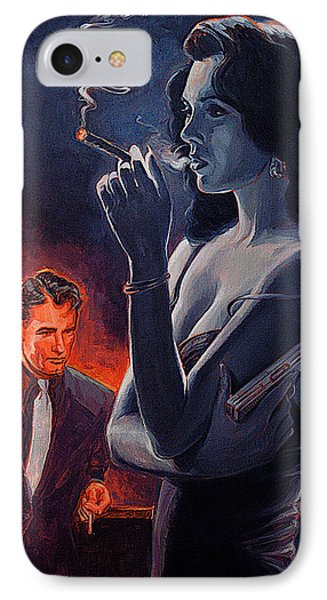 Men And Cigars Were The Same To Zelda If You Got Em Smke Em IPhone Case by Shawn Shea