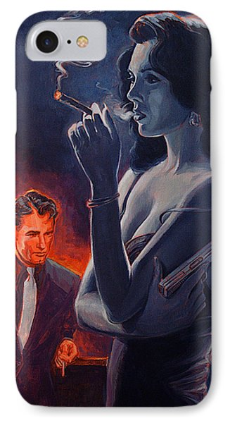 Men And Cigars Were The Same To Zelda If You Got Em Smoke Em IPhone Case by Shawn Shea