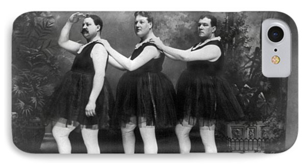 Men In Tights And Tutus IPhone Case