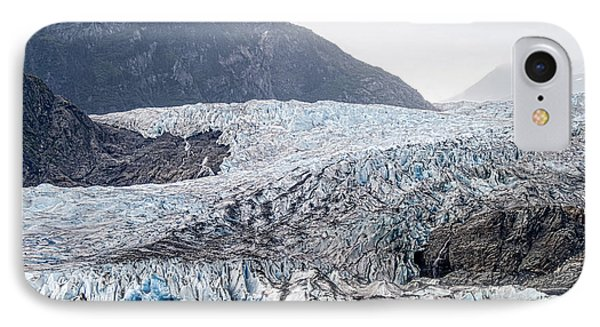 Mendenhall Glacier 1 IPhone Case by Wayne Meyer