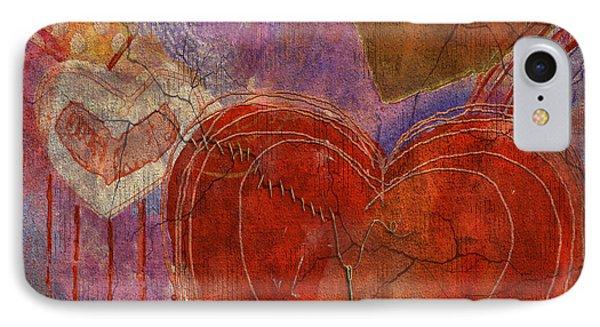 IPhone Case featuring the digital art Mending A Broken Heart by Arline Wagner