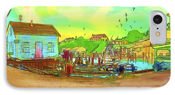 Menemsha Harbor Phone Case by Gerry Robins
