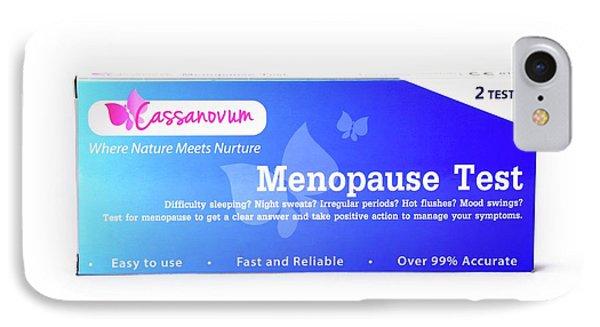 Menopause Test IPhone Case