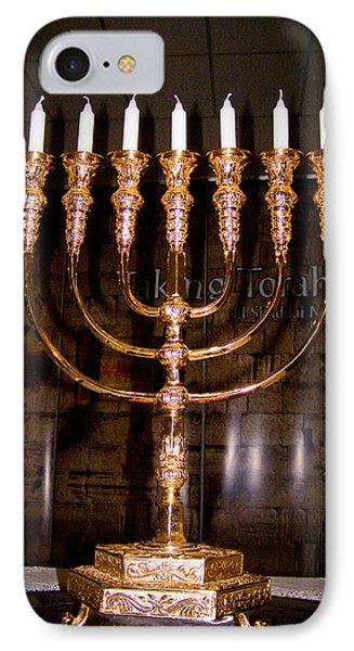 Menorah Phone Case by Tikvah's Hope