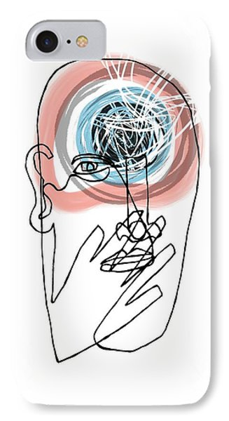 Mental Health IPhone Case by Paul Brown