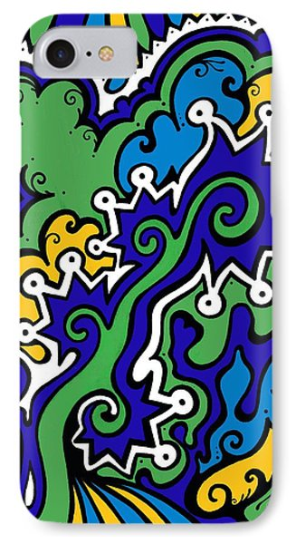 Mental Piracy IPhone Case by Mandy Shupp