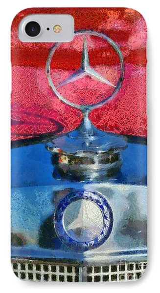 Mercedes Badge Phone Case by George Atsametakis
