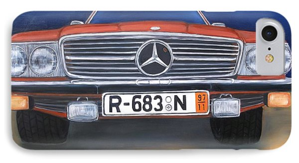 Mercedes Benz 450sl IPhone Case