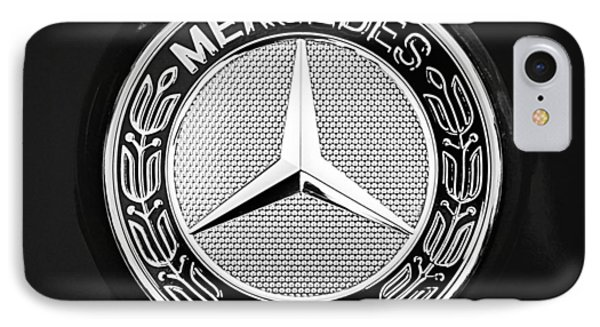 Mercedes-benz 6.3 Gullwing Emblem IPhone Case by Jill Reger