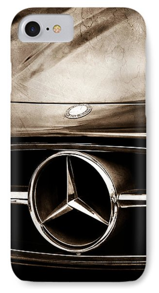Mercedes-benz Grille Emblem IPhone Case by Jill Reger