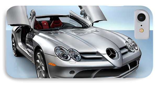 Mercedes Benz Slr Mclaren IPhone Case by Oleksiy Maksymenko