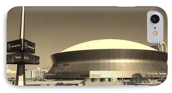 Mercedes Benz Superdome - New Orleans La IPhone Case
