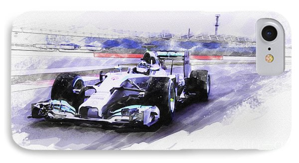 Mercedes F1 W05 IPhone Case
