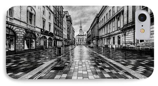 Merchant City Glasgow IPhone Case by John Farnan
