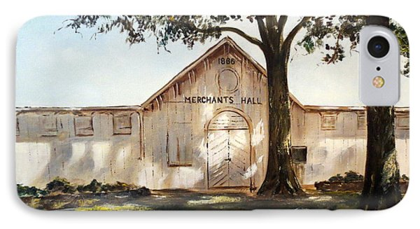 Merchants Hall Phone Case by Lee Piper