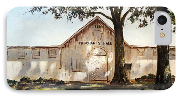Merchants Hall IPhone Case by Lee Piper