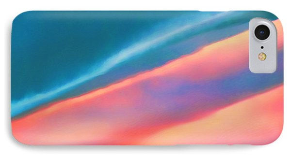 IPhone Case featuring the digital art Merging by Menega Sabidussi