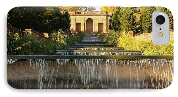 Meridian Hill Park Waterfall IPhone Case by Stuart Litoff