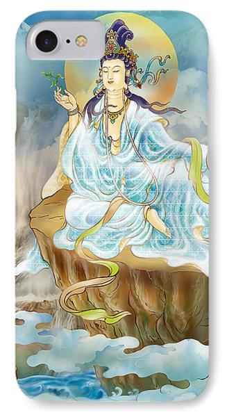 Merit King Kuan Yin IPhone Case by Lanjee Chee