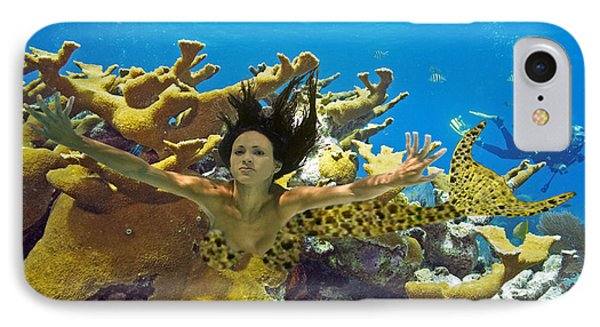 IPhone Case featuring the photograph Mermaid Camoflauge by Paula Porterfield-Izzo