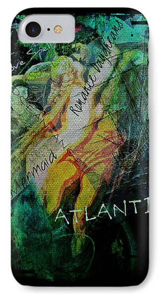 Mermaid Love Spell IPhone Case by Absinthe Art By Michelle LeAnn Scott