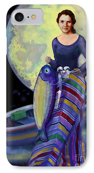 Mermaid Mother IPhone Case by Carol Jacobs