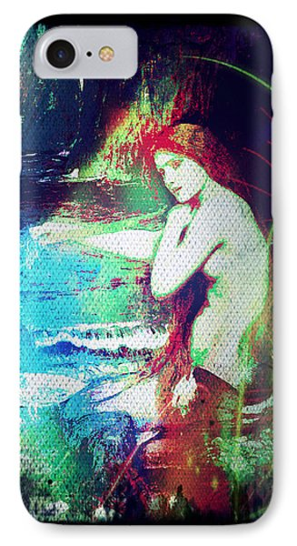 Mermaid Of The Tides IPhone Case by Absinthe Art By Michelle LeAnn Scott