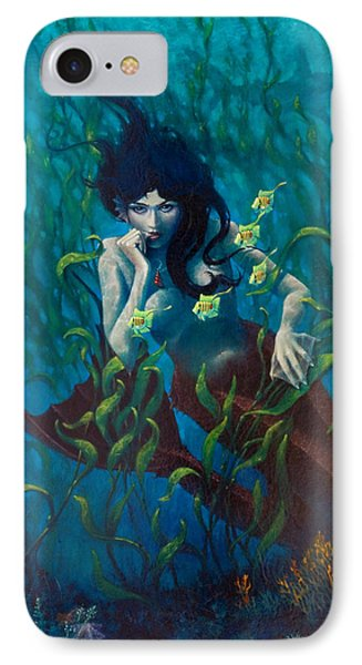 Mermaid IPhone Case by Rob Corsetti