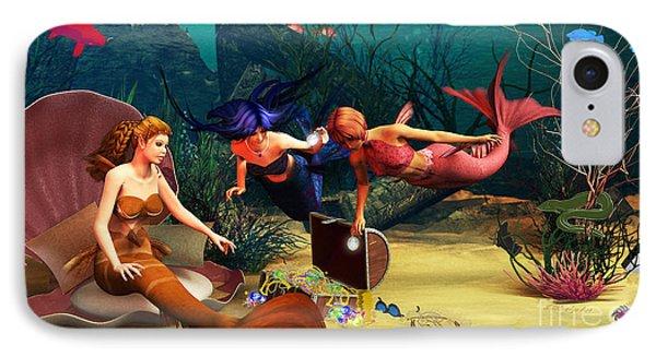 Mermaid Treasures IPhone Case