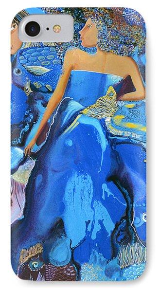 Mermaids Phone Case by Yelena Revis