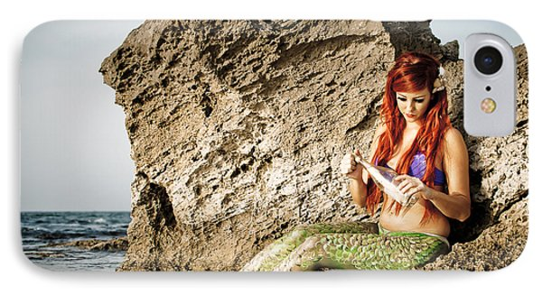 Mermais Sighting 1 IPhone Case by Guy Viner