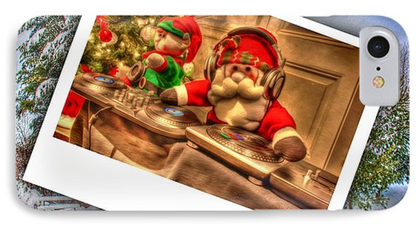 Merry Christmas IPhone Case by Dan Stone