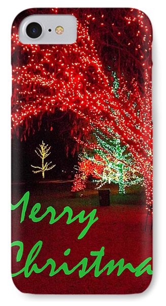IPhone Case featuring the photograph Merry Christmas by Darren Robinson