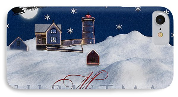 Merry Christmas Phone Case by Susan Candelario