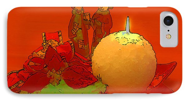 IPhone Case featuring the photograph Merry Christmas by Teresa Zieba