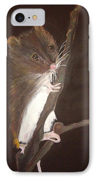 Mervyn Mouse IPhone Case by Carole Robins