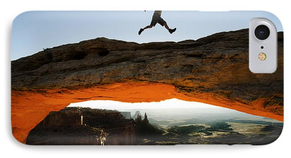 Mesa Arch Midair IPhone Case by Bob Christopher