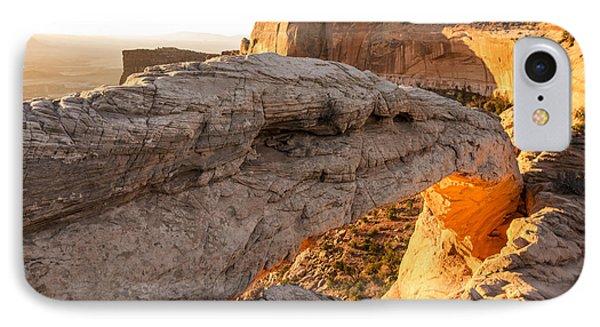 Mesa Arch Sunrise 6 - Canyonlands National Park - Moab Utah Phone Case by Brian Harig
