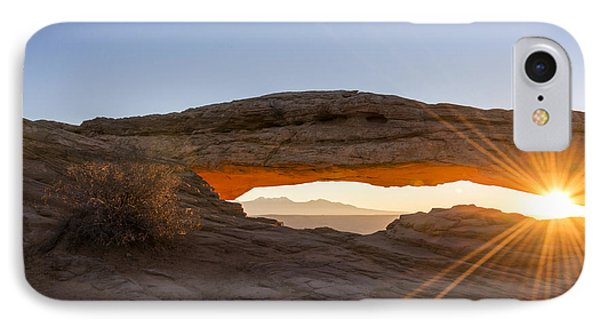 Mesa Arch Sunrise 7 - Canyonlands National Park - Moab Utah Phone Case by Brian Harig