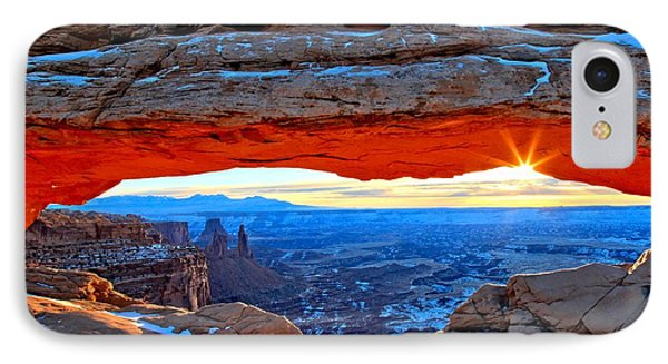 Mesa Arch Sunrise IPhone Case by Adam Jewell