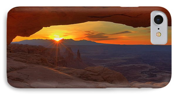Mesa Arch Sunrise IPhone Case by Alan Vance Ley