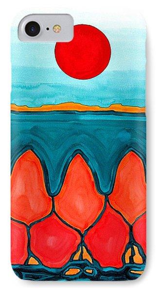 Mesa Canyon Rio Original Painting IPhone Case by Sol Luckman