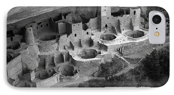 Mesa Verde Monochrome Phone Case by Bob Christopher