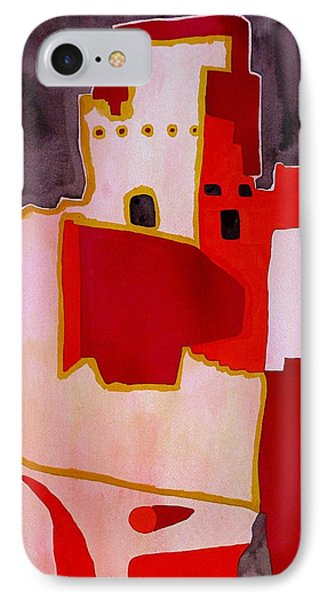 Mesa Verde Original Painting Sold IPhone Case by Sol Luckman