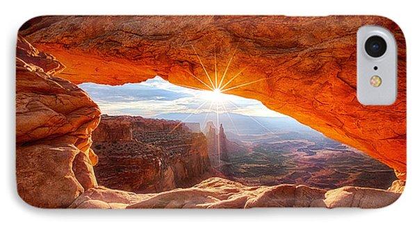 Mesa's Sunrise IPhone Case by Darren  White