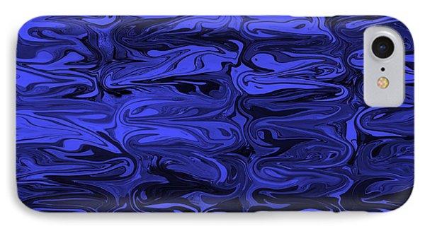 Mesmerizing Deep Blue Phone Case by Carol Groenen