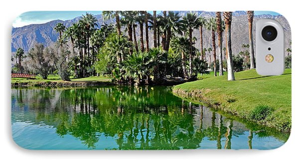 Mesquite Country Club Lake IPhone Case by Kirsten Giving