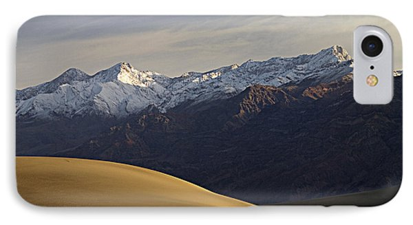 Mesquite Dunes And Grapevine Range IPhone Case by Joe Schofield